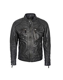 Woodland Biker Jacket