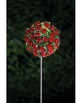 Gardenwize Solar Stake Light Red