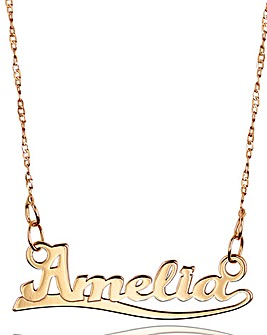 Rose Gold Personalised Name Necklace
