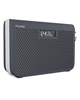 PURE ONE MIDI SERIES 3S DAB RADIO SLATE