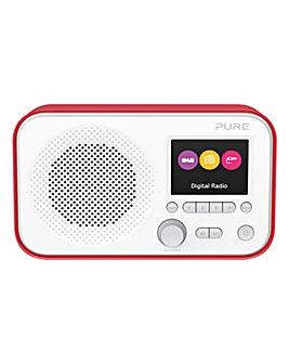PURE ELAN E3 DAB RADIO RED