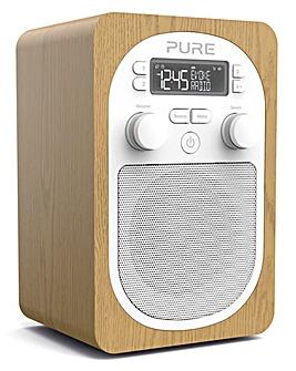 PURE EVOKE H2 DAB RADIO OAK