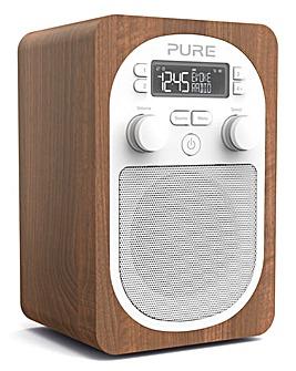 PURE EVOKE H2 DAB RADIO WALNUT