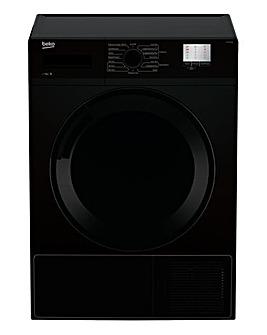 BEKO 7KG Condenser Tumble Dryer Black