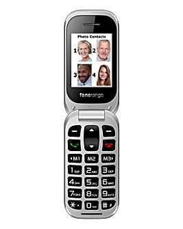 Fonerange Flip Friendly Mobile Phone