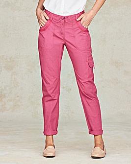 Laundered Cargo Trousers Regular