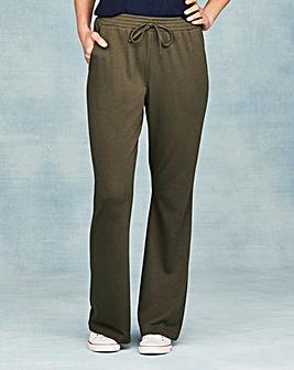 Pk2 Jersey Bootcut Trousers Short