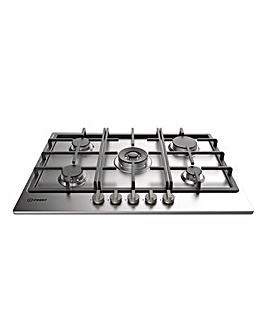 Indesit Gas Hob Stainless Steel