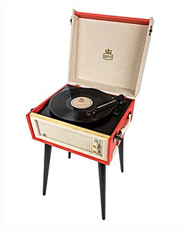 GPO Bermuda Turntable Red