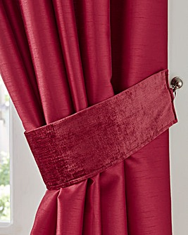 Lovelle Velvet Tie Backs