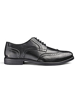 Leather Formal Brogues Standard Fit