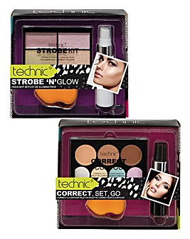 Strobing & Contouring Palette