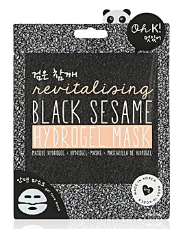 Oh K! Black Sesame Hydrogel Mask