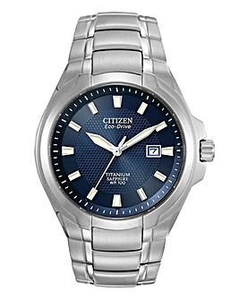 Citizen Gents Eco Drive Titanium Watch