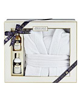 Signature Bathrobe Gift Set