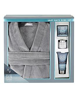 Skin Expert Lazy Day Robe Set