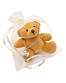 Personalised Teddy Bear Gift Set