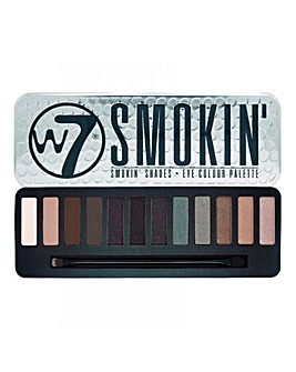 W7 Smokey Eyeshadow Palette