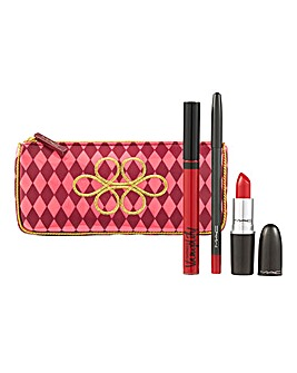 MAC Sweet Red Lip Bag