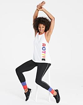 Sports Colour Block Legging