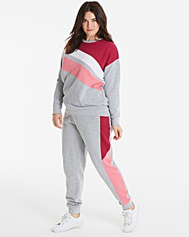 Leisure Colour Block Sweat Pants