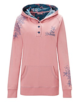 Joe Browns Button Detail Hoodie