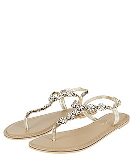 Accessorize Candice Crystal Sandals