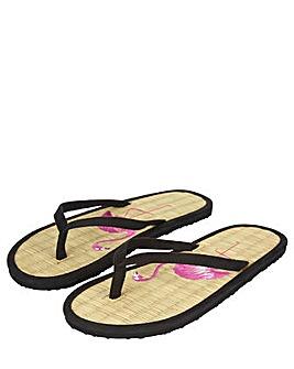 Accessorize Flamingo Flip Flop
