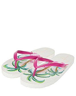 Accessorize Flamingo Eva Flip Flop
