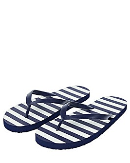 Accessorize Sailor Stripe Eva Flip Flop