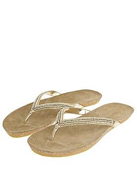 Accessorize Emma Sparkle Sandals