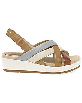 Pikolinos Syros Womens Wedge Sandals
