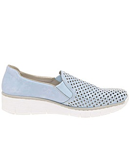 Rieker Punch Casual Slip On Shoes