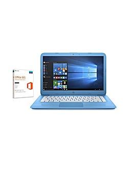 "HP 14"" Intel 4G 32GB Win10 FreeOffice365"