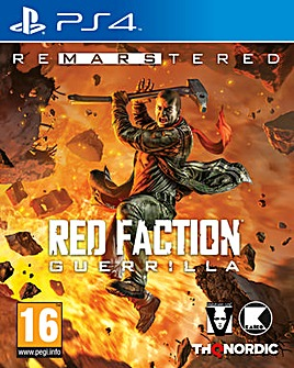 Red Faction Guerilla Re-Mars-tered PS4