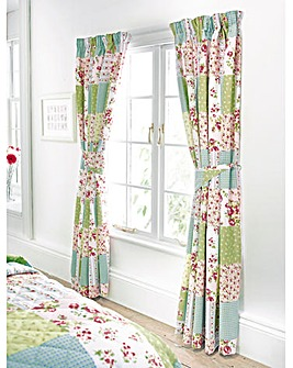 Elsie Lined Curtains and Tie Backs