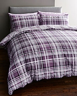 Chandler Plum Duvet Cover Set