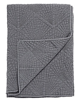 Stonewash Quilted Throw