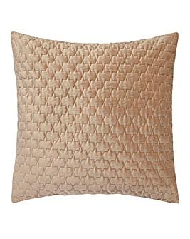 Luxury Textured Velvet Quilted Cushion