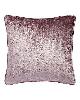 Crushed Velvet Filled Cushion