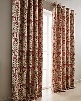 Riga Lined Eyelet Curtains