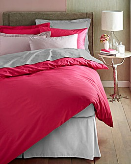 Easy-Care Plain-Dyed Duvet Cover