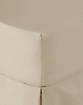 Easy-Care Plain-Dyed Fitted Sheet