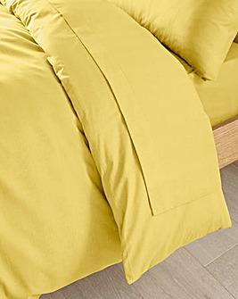 Easy-Care Plain-Dyed Flat Sheet