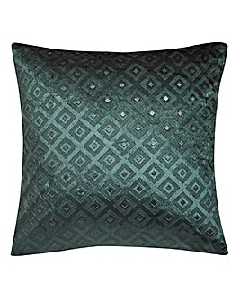 Alto Cut Velvet Cushion