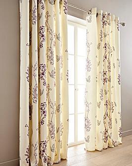Thea Printed Eyelet Curtain