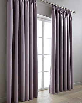 Woven Canvas Blockout Pencil P Curtains