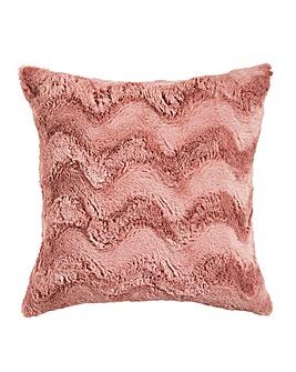 Faux Fur Filled Cushion 43 x 43cm