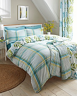 Kew Teal Duvet Cover Set