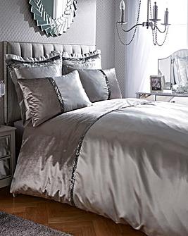 Caprice Velvet Sequin Duvet Cover Set